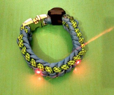 Lit Paracord Bracelet