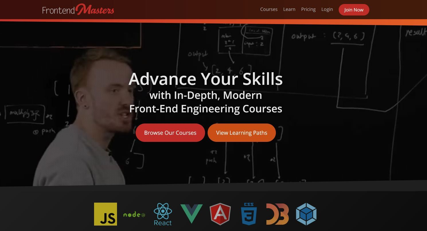 Review: Frontend Masters