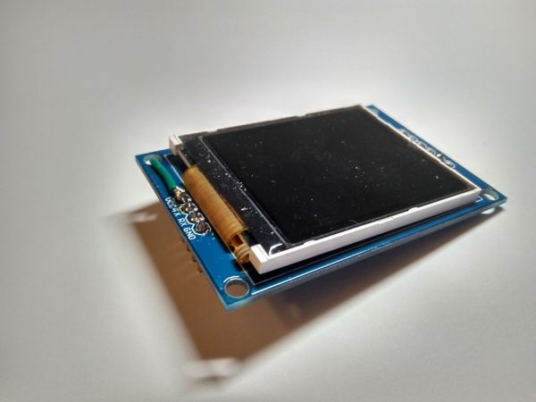 UART controlled LCD screen
