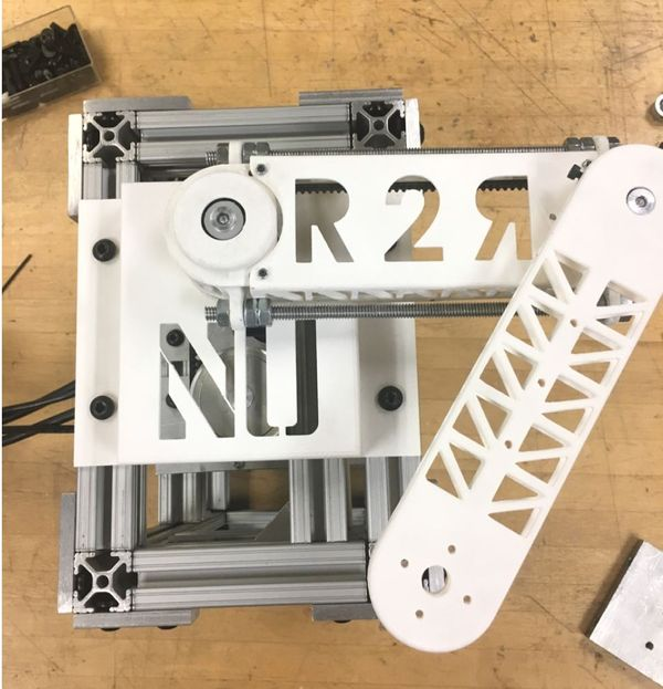 2 Revolute Joint Robotic Arm