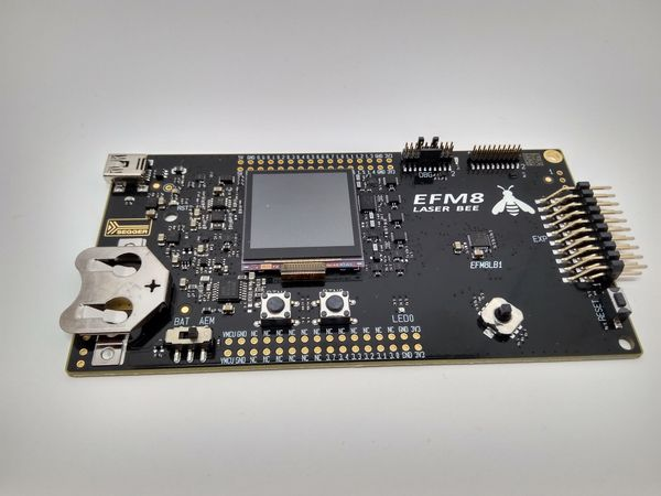 Silicon Labs EFM8 'Bee' Series