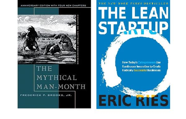 Notes on The Lean Startup and The Mythical Man-Month